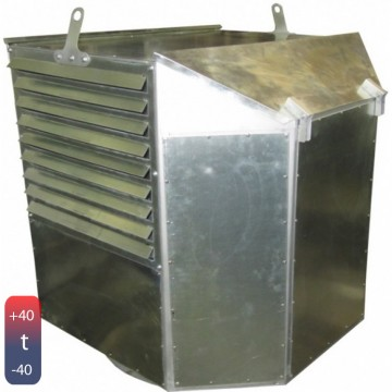 Вентилятор дымоудаления радиальный  ВКР ДУ