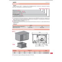 Вентилятор крышный приточный ВКОП 2