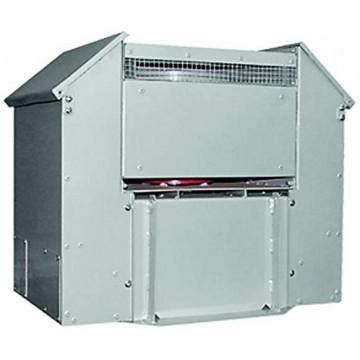 Крышные вентиляторы дымоудаления с факельным выбросом воздуха VDKN DU