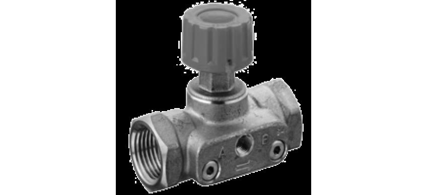 Автоматические и ручные балансировочные клапаны