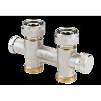 Клапан запорно-присоединительный RLV-KD отопления