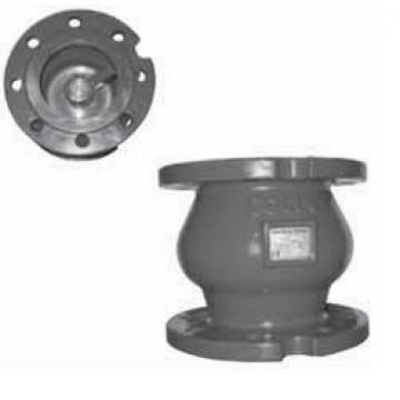 Клапан обратный тип 462 чугунный фланцевый пружинный
