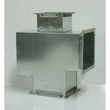 Крестовина прямоугольная из оцинкованной стали  (цена за м2)