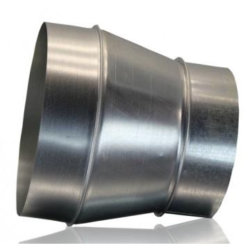 Переход круглый из оцинкованной стали  (цена за м2)