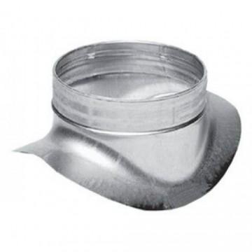 Врезка круглая из оцинкованной стали  (цена за м2)