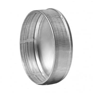 Заглушка круглая из оцинкованной стали  (цена за м2)