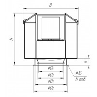 Вентилятор дымоудаления Shermann Series Hb 0031511