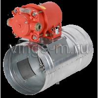 Противопожарный клапан КЛОП-2(60/90/120/180/240)-НО-В взрывобезопасный